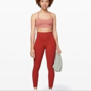 Size 4 align pant in cayenne. 28inch length